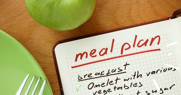Make a meal plan