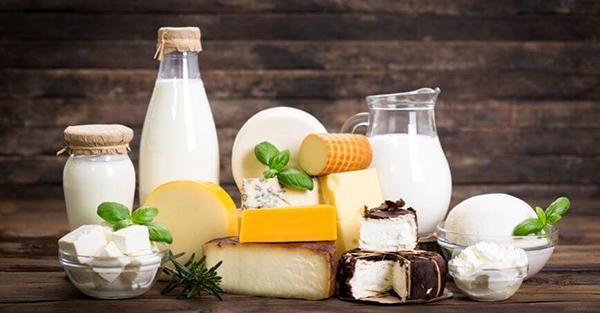 Eat too much dairy food