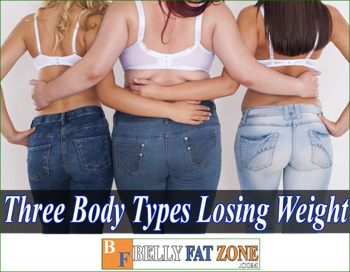 What are the three body types for losing weight?