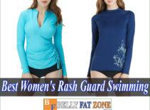 Top 19 Best Women's Rash Guard for Swimming 2021