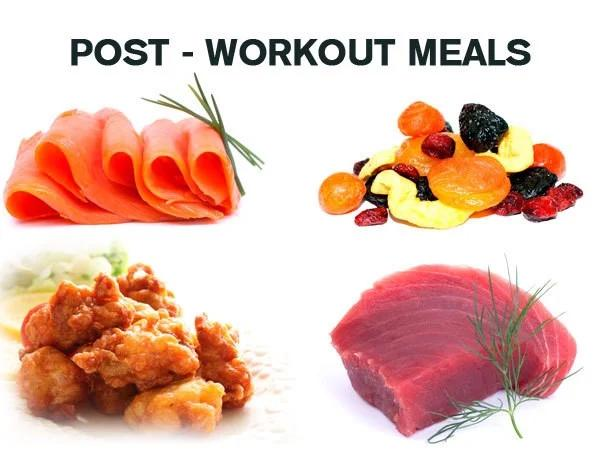What to eat after exercising to gain muscle and lose fat