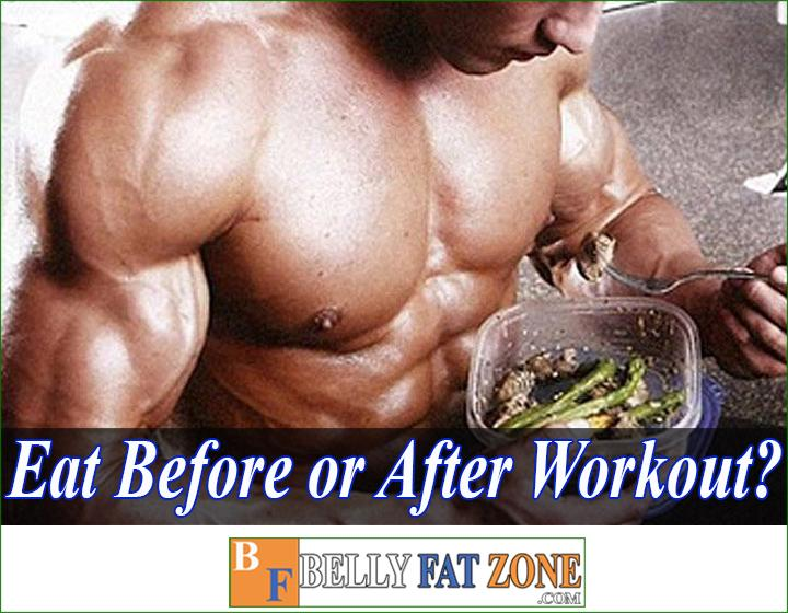 What to eat before or after the workout to build muscle?