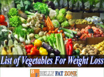 List of Vegetables For Weight Loss for You to Add to the menu Every Day