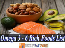 Omega 3 – Omega 6 Rich Foods List Helps You to Replenish Good Fats