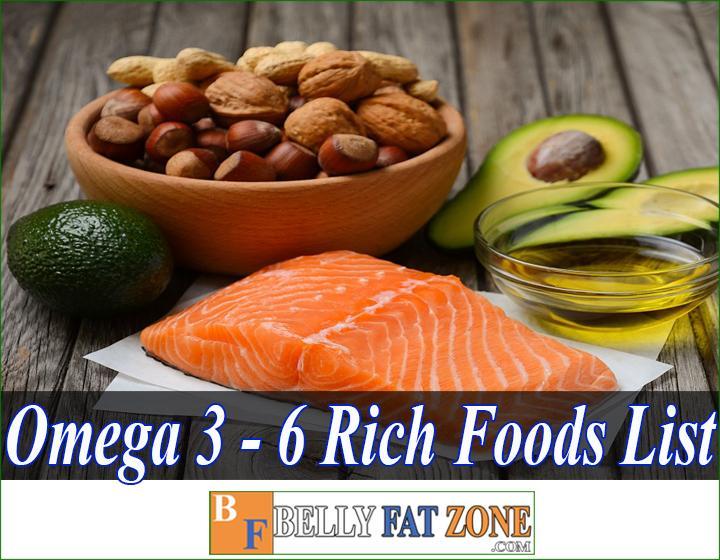 Omega 3 - Omega 6 Rich Foods List