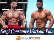 Sergi Constance Workout Plan – Diet And Motivation