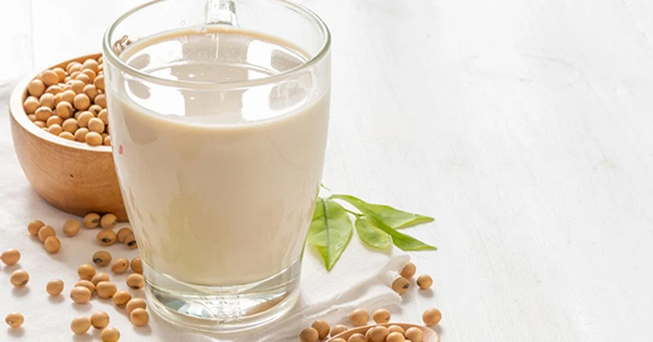 Weight loss menu with soy milk is extremely effective