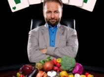 Poker Star Goes All-In on Vegan Diet
