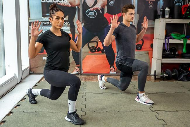 LUNGE AND TWIST