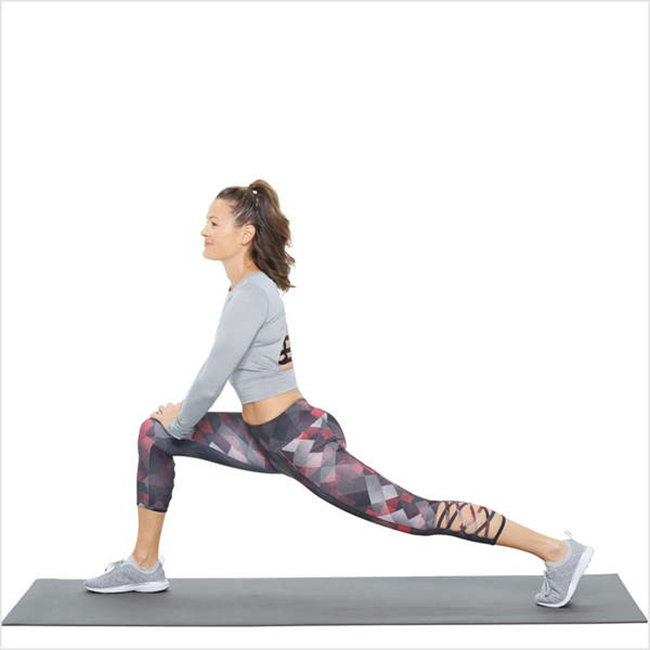 Runner's lunge - Lunge pose