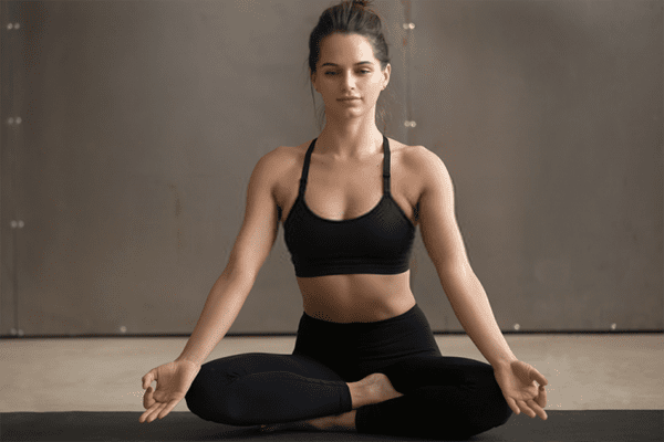 Simple sitting posture