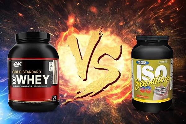 Compare Whey Gold and Iso 93