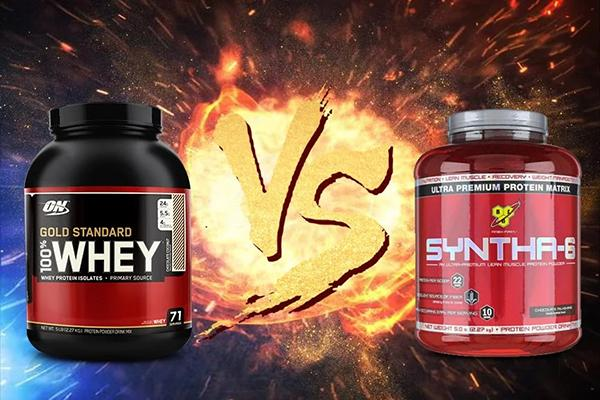Compare Whey Gold and Syntha-6