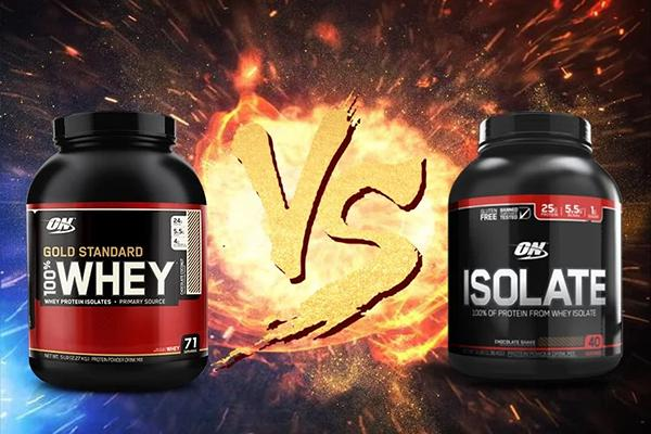 Compare Whey Gold and Whey ON Isolate