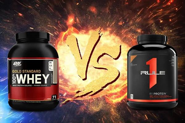 Compare Whey ON and Rule 1