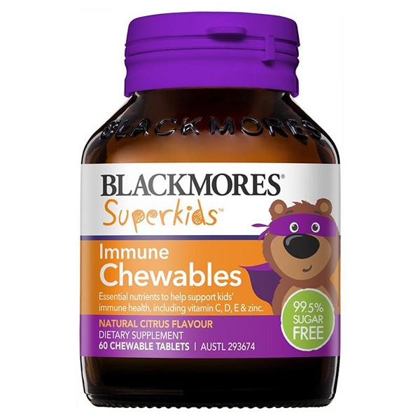Superkids Immune Blackmores 60 Chewables