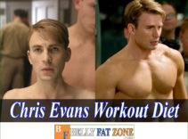 Chris Evans Captain America Workout Diet to Become Top Star