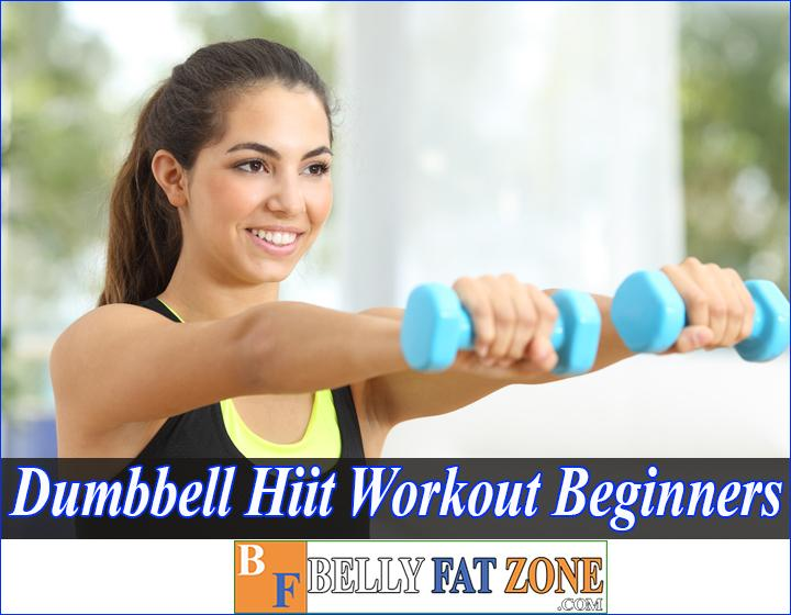 Dumbbell HIIT Workout for Beginners - One of The Most Effective Exercises Lose Fat