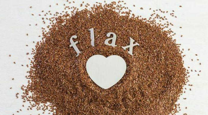 Where should avoid using flaxseed