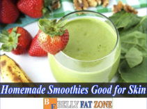 Homemade Smoothies Good For Skin – Only 5 Minutes A Day, You Have Smooth And Glowing Skin