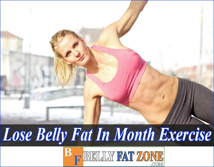How To Lose Belly Fat in a Month With Exercise For Female