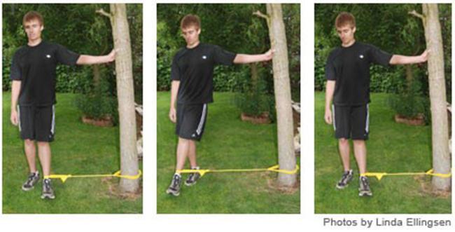 Knee stretch # 2: