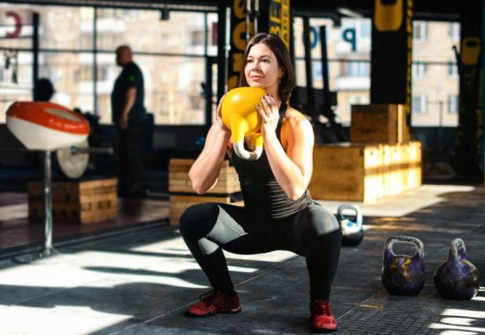 Kettlebell helps build muscle