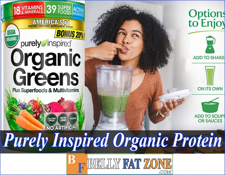 purely inspired organic protein review bellyfatzone com