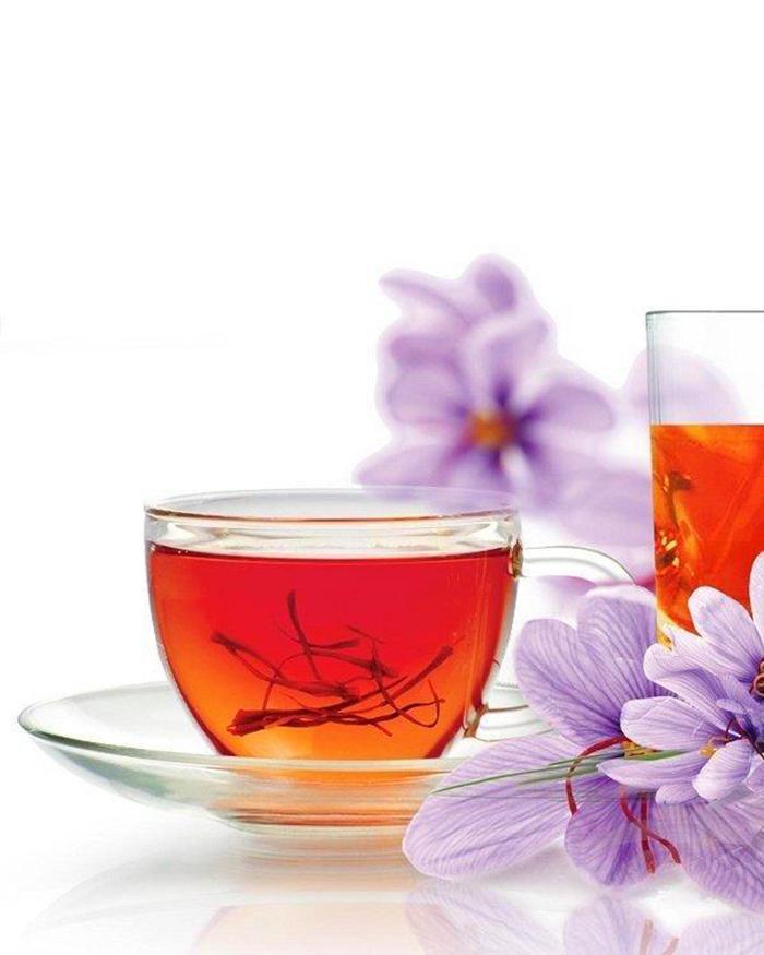 How to drink saffron pistil for health care
