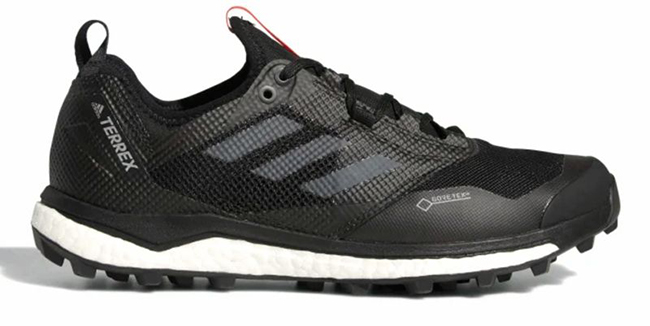GOOD RESPONDER SHOES DESIGNED TO RUN LONG ROADS.